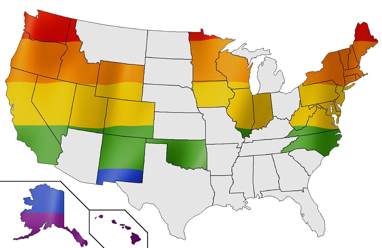 Very good what states have legal gay marriage are
